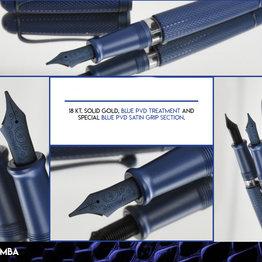 Aurora Aurora Limited Edition 888 Blue Mamba Fountain Pen