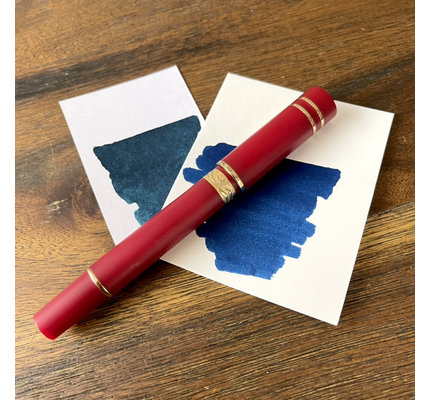 Nettuno 1911 Neos Eros Matte Red with Gold Plated Trim Fountain Pen