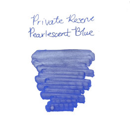 Private Reserve Private Reserve Pearlescent Blue-Silver  Bottled Ink - 60ml