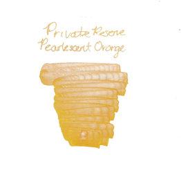 Private Reserve Private Reserve Pearlescent Orange-Silver Bottled Ink - 60ml