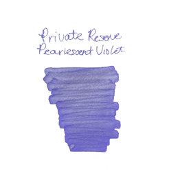 Private Reserve Private Reserve Pearlescent Violet-Silver Bottled Ink - 60ml