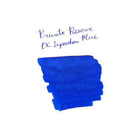 Private Reserve Private Reserve DC Supershow Blue Bottled Ink - 60ml