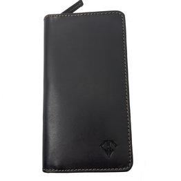 Dee Charles Dee Charles 2/3 Pen Zipper Case - Midnight Black