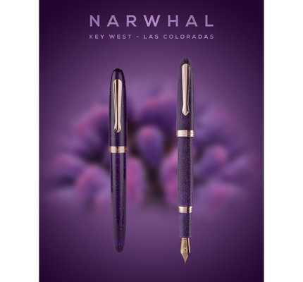 Narwhal Narwhal Key West Las Coloradas Fountain Pen