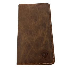 Dee Charles Dee Charles 2/3 Pen Zipper Case - Saddle