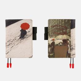 Hobonichi Hobonichi A6 Techo 2022 Saul Leiter: Footprints, c. 1950