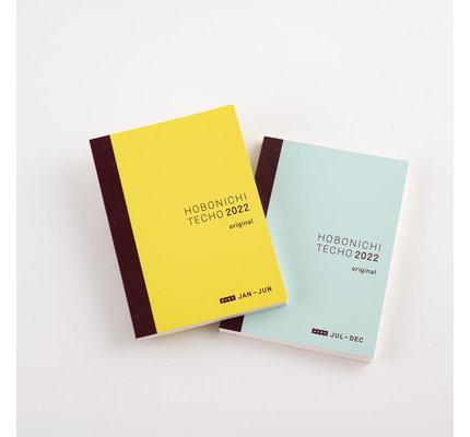 Hobonichi Hobonichi 2022 A6 Techo Original Avec Books Only Set