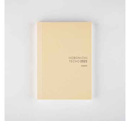 Hobonichi Hobonichi 2022 A5 Cousin Book Only