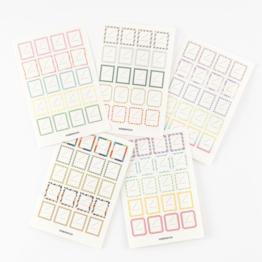 Hobonichi Hobonichi Frame Stickers