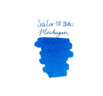 Sailor Sailor USA 50 States Ink Series - Michigan 20ml Bottled Ink