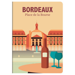 Clairefontaine Clairefontaine #436603 France Collection Notebook - Bordeaux