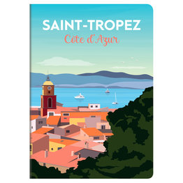 Clairefontaine Clairefontaine #436615 France Collection Notebook - Saint-Tropez