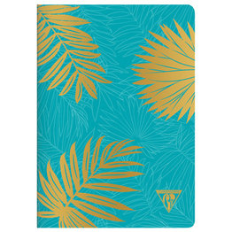 Clairefontaine Clairefontaine #194136 Neo Deco Notebook - Turquoise