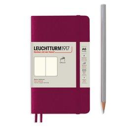 Leuchtturm1917 Leuchtturm1917 Pocket (A6) Softcover Notebook -  Port Red