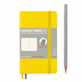 Leuchtturm1917 Leuchtturm1917 Pocket (A6) Softcover Notebook - Lemon