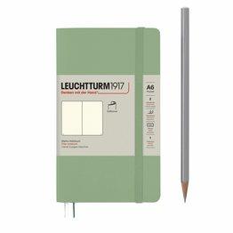 Leuchtturm1917 Leuchtturm1917 Pocket (A6) Softcover Notebook - Sage