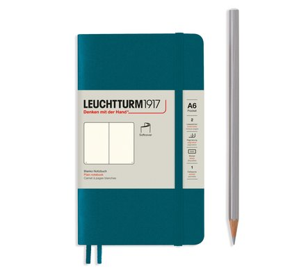 Leuchtturm1917 Leuchtturm1917 Pocket (A6) Softcover Notebook - Pacific Green