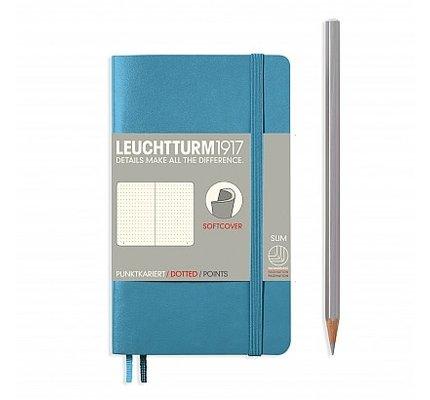 Leuchtturm1917 Leuchtturm1917 Nordic Blue Pocket (A6) Softcover Notebook