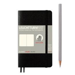 Leuchtturm1917 Leuchtturm1917 Black Softcover Pocket (A6) Notebook