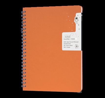 Colorverse Colorverse Nebula Casual A5 Notebook - Orange
