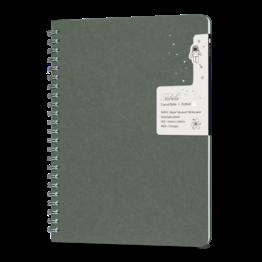 Colorverse Colorverse Nebula Casual A5 Notebook - Oil Green