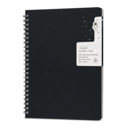 Colorverse Colorverse Nebula Casual A5 Notebook - Black