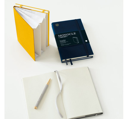 Leuchtturm1917 Leuchtturm Monocle B6+  Paperback Wallet/Accordian Notebook Dotted