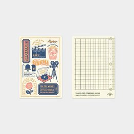 Traveler's Traveler's Notebook 2022 Plastic Sheet