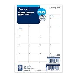 Filofax Filofax 2022 Month to View A5 Planner Refill