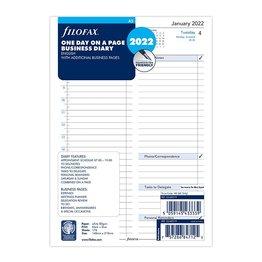 Filofax Filofax 2022 Daily Business A5 Planner Refill