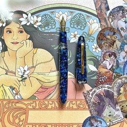 Esterbrook Esterbrook Estie Nouveau Bleu with Gold Trim Fountain Pen