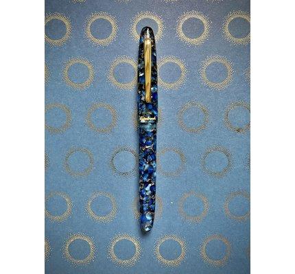 Esterbrook Esterbrook Estie Nouveau Bleu with Gold Trim Rollerball