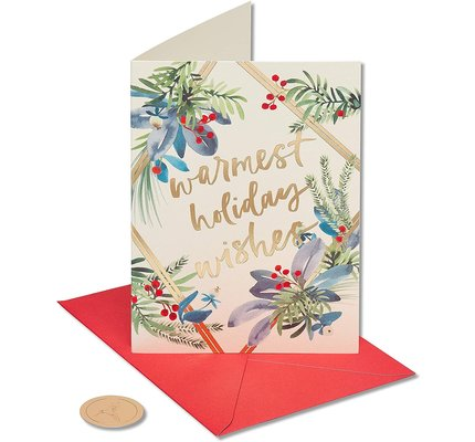 Papyrus Warmest Holiday Wishes Boxed Holiday Cards