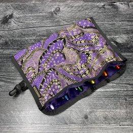 Rickshaw Japanese Collection Sakura Dream Purple 6 Pen Roll