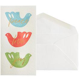 NIQUEA.D NIQUEA.D Three Doves Holiday Card