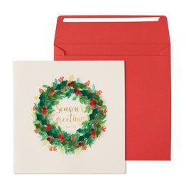 NIQUEA.D NIQUEA.D Quilling Wreath Holiday Card