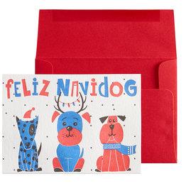 NIQUEA.D NIQUEA.D Feliz Navidog Holiday Card