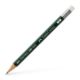 Faber-Castell Graf Von Faber-Castell 9000 Perfect Pencil Refills Green (3/Box)