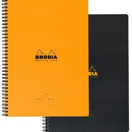 Rhodia Rhodia Rhodiactive Meeting Wirebound Book (A5)