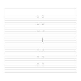 Filofax Filofax Notepaper Personal White Ruled