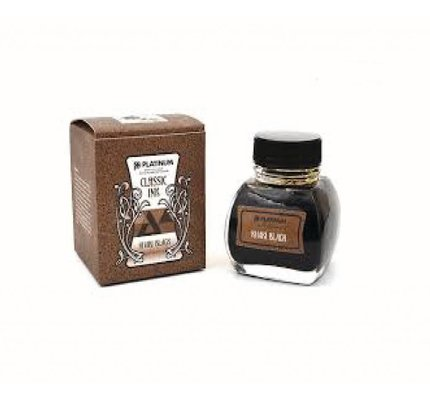 Platinum Platinum Classic Khaki Black - 60ml Bottled Ink