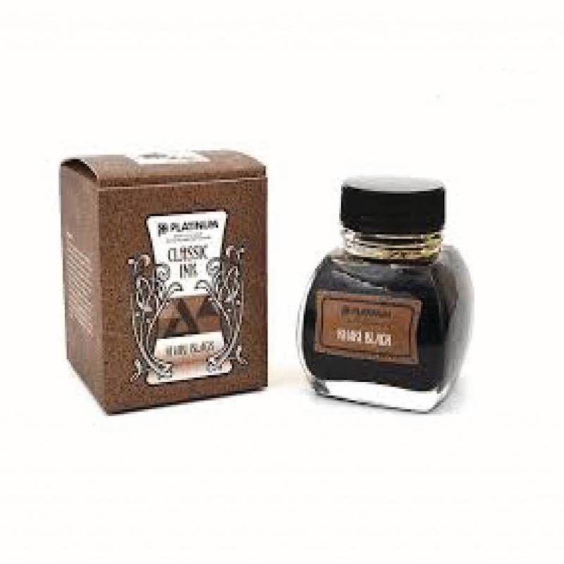 Platinum Platinum Classic Khaki Black - 60ml Bottled Ink