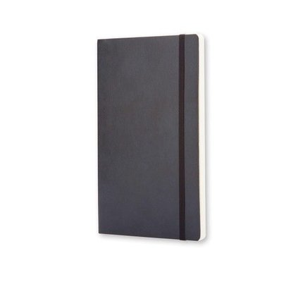 Moleskine Moleskine Classic Colored Pocket Softcover Notebook Black