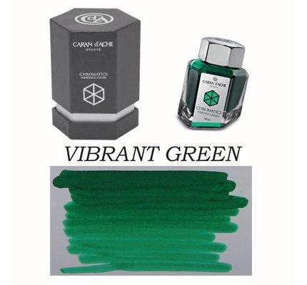 Caran D' Ache Caran D' Ache Vibrant Green - 50ml Bottled Ink