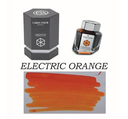 Caran D' Ache Caran D' Ache Electric Orange - 50ml Bottled Ink