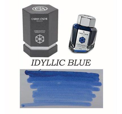Caran D' Ache Caran D' Ache Idyllic Blue - 50ml Bottled Ink