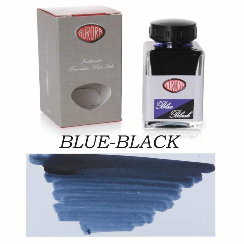 Aurora Aurora Blue-Black - 45ml Bottled Ink