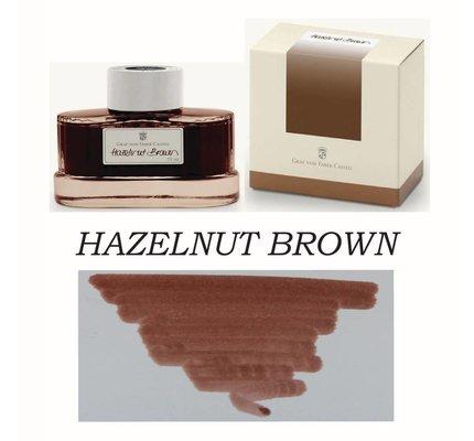 Faber-Castell Graf Von Faber-Castell Hazelnut Brown - 75ml Bottled Ink