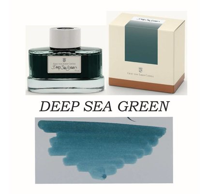 Faber-Castell Graf Von Faber-Castell Deep Sea Green - 75ml Bottled Ink
