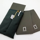 Nock Nock Dotdash Pocket Notebook Black/Lavender